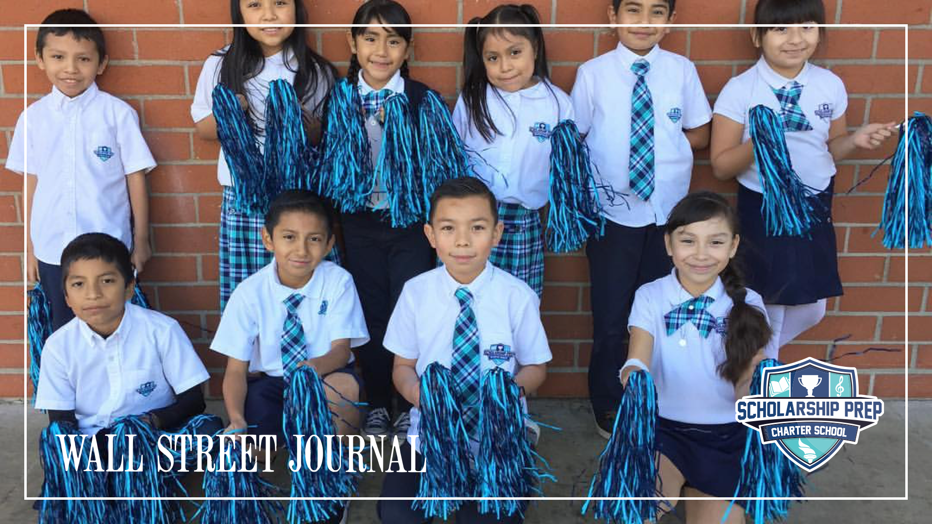 The Wall Street Journal Visits Scholarship Prep