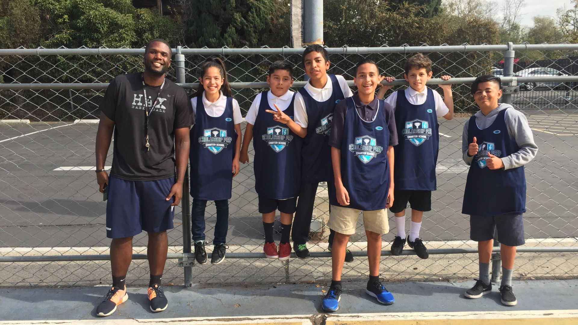 Scholarship Prep Crowns Basketball Lunch League Champions