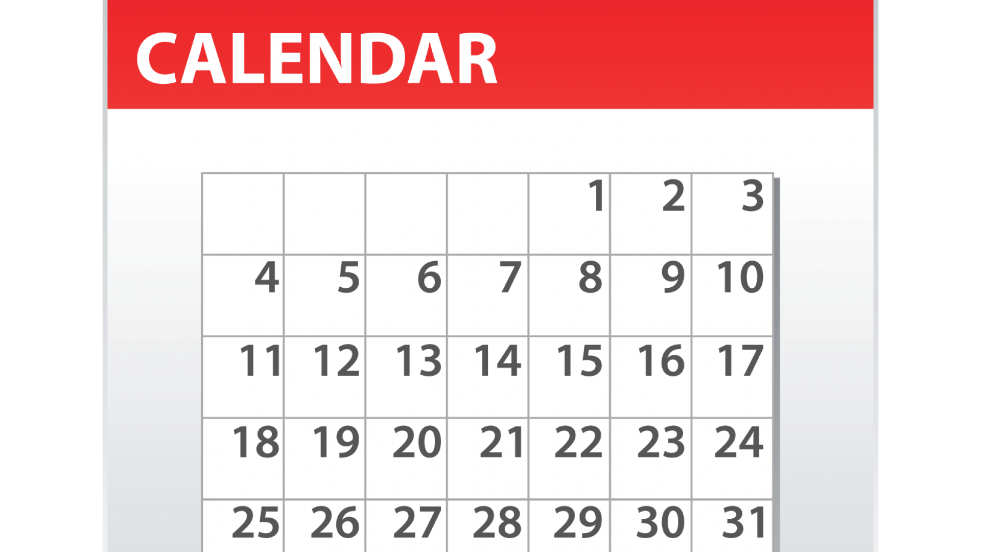 2018-2019 Master Calendar Available Now